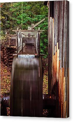 Spin Canvas Print - Smoky Mountain Mill by Andrew Soundarajan