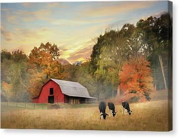 Smoky Mountains Sunrise Canvas Print