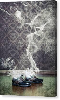 Smoky Shoes Canvas Print by Joana Kruse