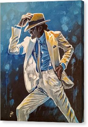 Smooth Criminal Canvas Print by Jennifer Hotai