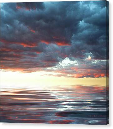 Smooth Sailing Canvas Print by Jerry McElroy