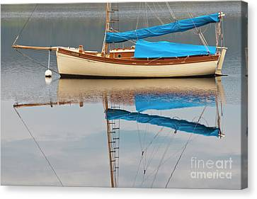 Canvas Print featuring the photograph Smooth Sailing by Werner Padarin