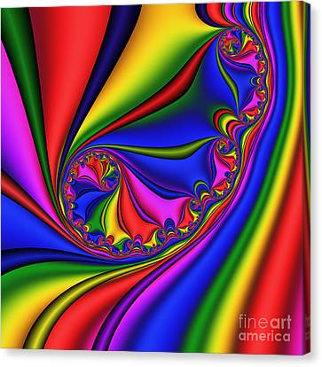 Smoothly Curly 199 Canvas Print by Rolf Bertram