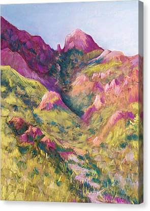 Smuggler's Gap Canyon Canvas Print by Candy Mayer