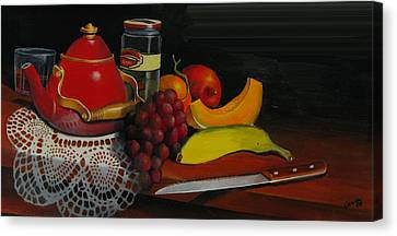 Snack Time Canvas Print by Robert Carver