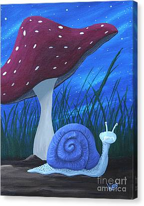 Snail Elliot Canvas Print