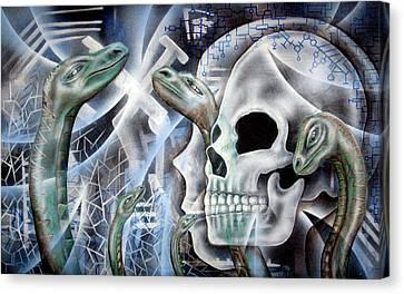 Snake Creation Canvas Print by Leigh Odom