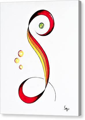 Snake Eye Canvas Print