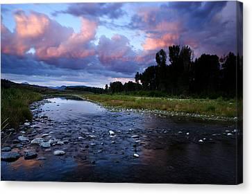 Snake River Canvas Print by Eric Foltz