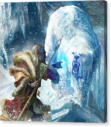 Snap Freeze Canvas Print by Ryan Barger