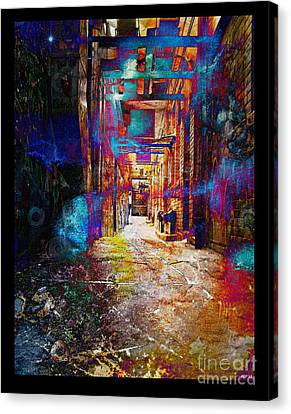 Canvas Print featuring the photograph Snickelway Of Light by Phil Perkins