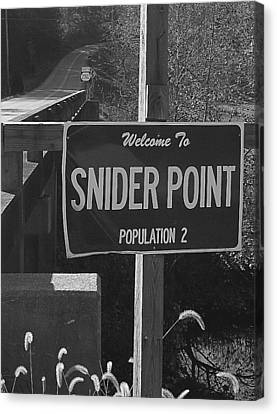 Snider Point Canvas Print by William Furguson