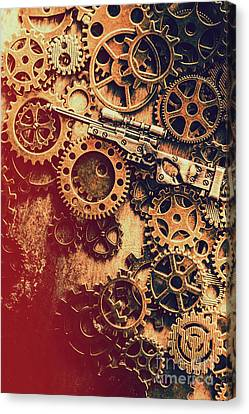 Sniper Rifle Fine Art Canvas Print