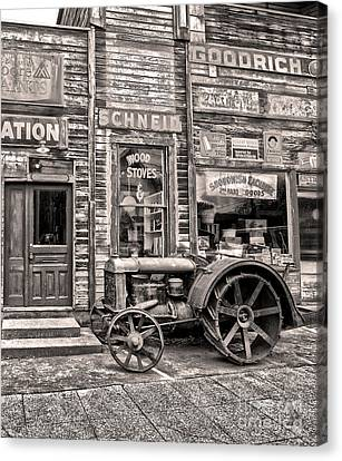 Snohomish Antiques Canvas Print by Sonya Lang