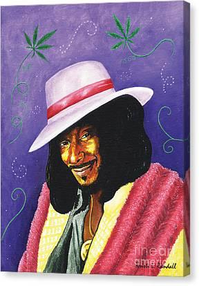 Snoop Dogg Canvas Print by Kristi L Randall