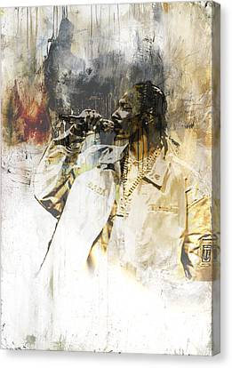 Snoop Graffitti 10 Canvas Print