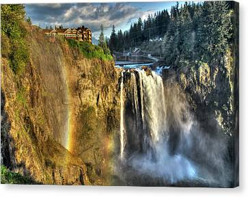 Snoqualmie Falls, Washington Canvas Print by Greg Sigrist