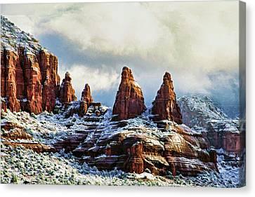 Snow 04-002 Canvas Print