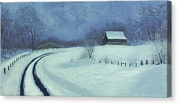 Snow Bound Canvas Print