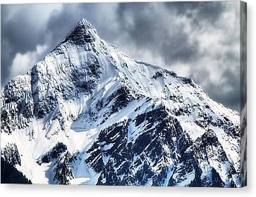 Snow Cap Canvas Print by Naman Imagery