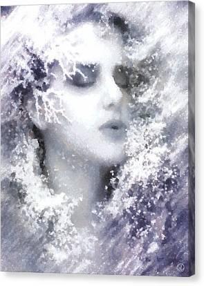 Snow Fairy  Canvas Print by Gun Legler