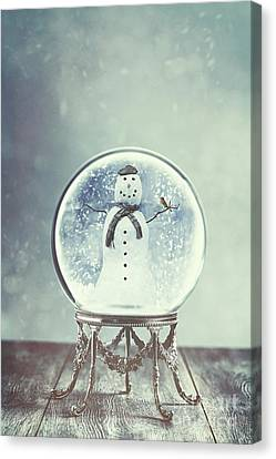 Snow Globe Canvas Print by Amanda Elwell
