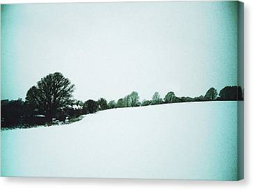 Snow In Sussex Canvas Print