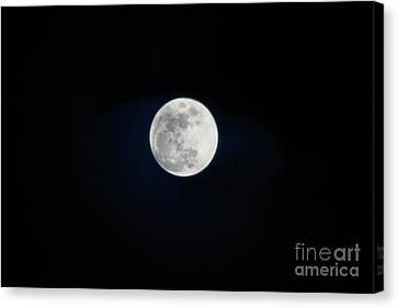 Snow Moon 4 Canvas Print