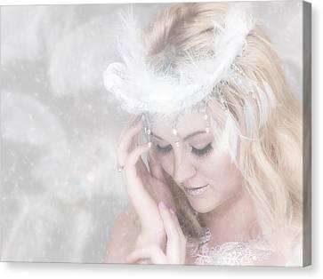 Ayla Canvas Print - Snow Queen by Rikk Flohr