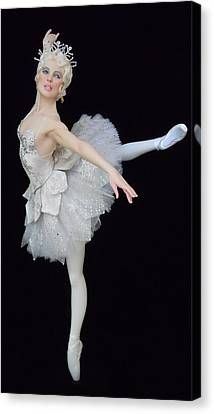 Snow Queen Canvas Print by Vickie Arentz