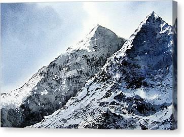 Snowdon Canvas Print by Paul Dene Marlor
