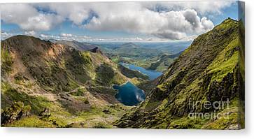 Snowdon Summit Canvas Print