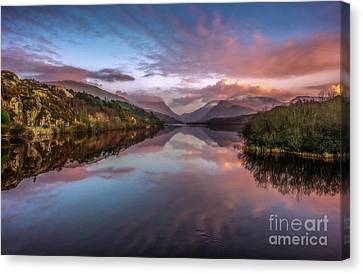 Snowdon Sunset Canvas Print