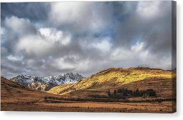 Snowdonia Canvas Print by Chris Fletcher