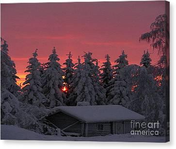 Snowed In Canvas Print by Rod Jellison