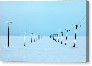 Snowed In Canvas Print by Todd Klassy