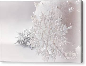 Snowflake Canvas Print by Cindy Garber Iverson