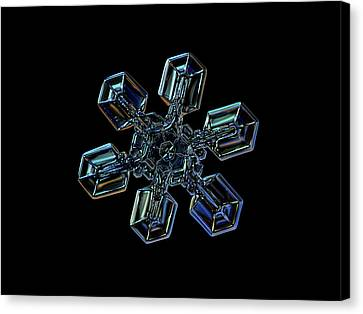 Snowflake Photo - High Voltage IIi Canvas Print