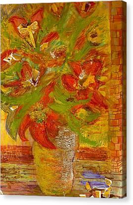 So Bright Canvas Print by Anne-Elizabeth Whiteway