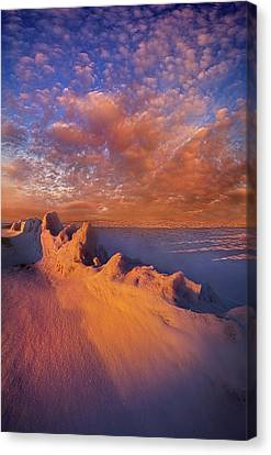 Canvas Print featuring the photograph So It Begins by Phil Koch