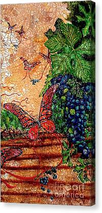 So Long And Thanks For All The Grapes Canvas Print by Ron Carter