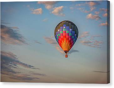 Canvas Print featuring the photograph Soaring At Sunrise by Rick Berk
