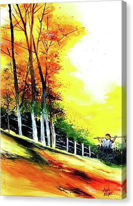 Soaring High Canvas Print by Anil Nene