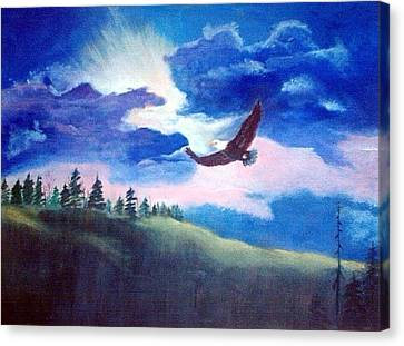 Soaring High Canvas Print by Catherine Swerediuk