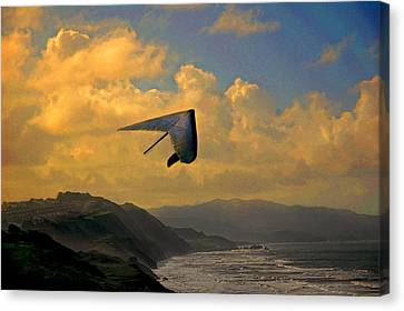 Soaring Canvas Print by Jeff Burgess