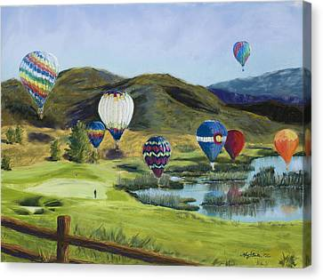 Soaring Over Colorado Canvas Print