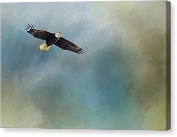 Canvas Print featuring the photograph Soaring by Rebecca Cozart