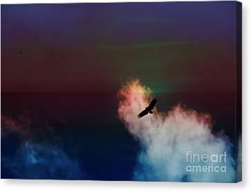 Soaring, Soaring Canvas Print by Al Bourassa