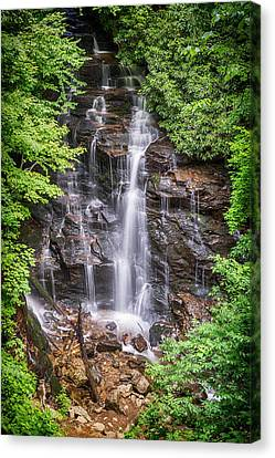 Canvas Print featuring the photograph Socco Falls by Stephen Stookey