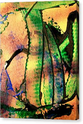Social Climbers Canvas Print by Bruce Combs - REACH BEYOND